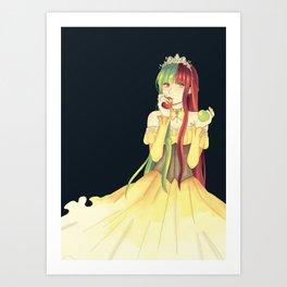 Princess Apple Art Print