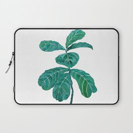 fiddle leaf fig watercolor Laptop Sleeve