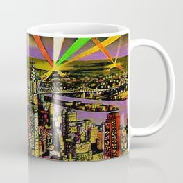 New York City and Brooklyn Skyline circa 1932 Coffee Mug