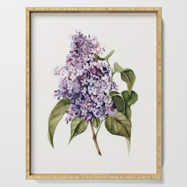 Lilac Branch Serving Tray