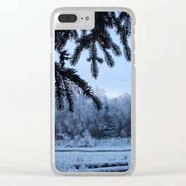 Through the Spruce Clear iPhone Case