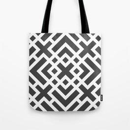 Laberinto N&B Tote Bag