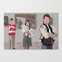 ferris bueller Canvas Prints featuring Ferris Bueller You're My Hero. by Lee_B