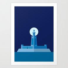 Lighthouse of Alexandria Art Print
