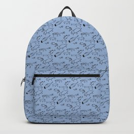 Hand drawn lures Backpack