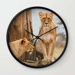 Felines Wall Clock