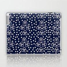 Vintage floral pattern 1920s Laptop & iPad Skin