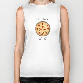 Circle of Life ... Pizza Biker Tank