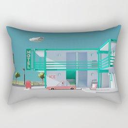 No Vacancy Rectangular Pillow