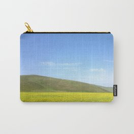 yellow flower field Carry-All Pouch