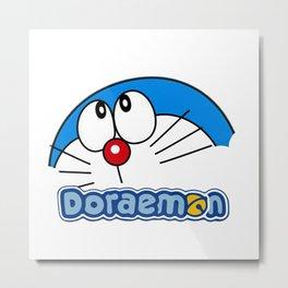 Doraemon cute3 Metal Print