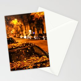 Istanbul: A Fusion of Black and White Stationery Cards