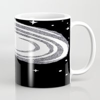 cosmic Mugs featuring cosmic  by smurfmonster