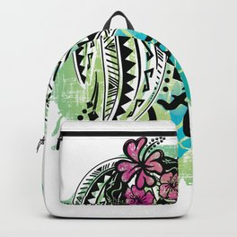 Ocean Spray Hawaiian Turtle Threads Backpack