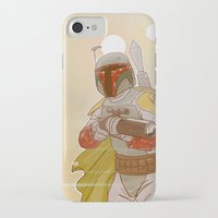 backpack iPhone & iPod Cases featuring Jet-powered Backpack by Art of Tyler Newcomb