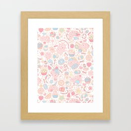 Dreamy Sweets Framed Art Print