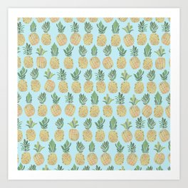 The Pineapple Show Art Print