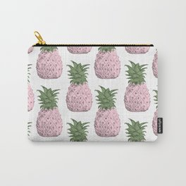 Pink pineapple pattern Carry-All Pouch