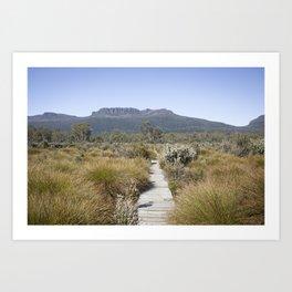 Cradle Mountain National Park Art Print