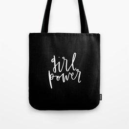 Girl Power Cursive Tote Bag