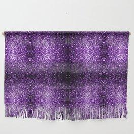 Beautiful Dark Purple glitter sparkles Wall Hanging