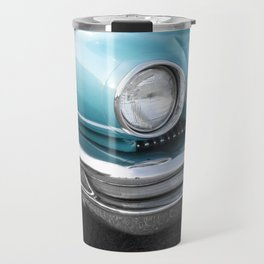 Vintage Car Photography   Turquoise Bedroom Art Travel Mug