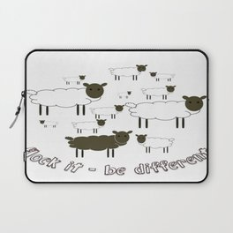 Flock It - Be Different Laptop Sleeve