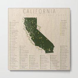 California Parks Metal Print