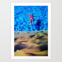 oasis Art Prints featuring Oasis by John Turck