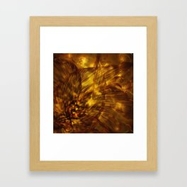Broken Action Framed Art Print