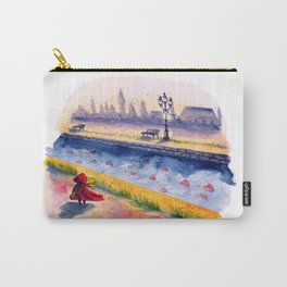 A river of Hearts Carry-All Pouch