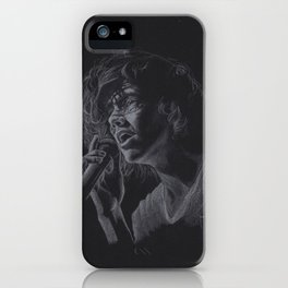 Long hair don't care (Harry Styles) iPhone Case