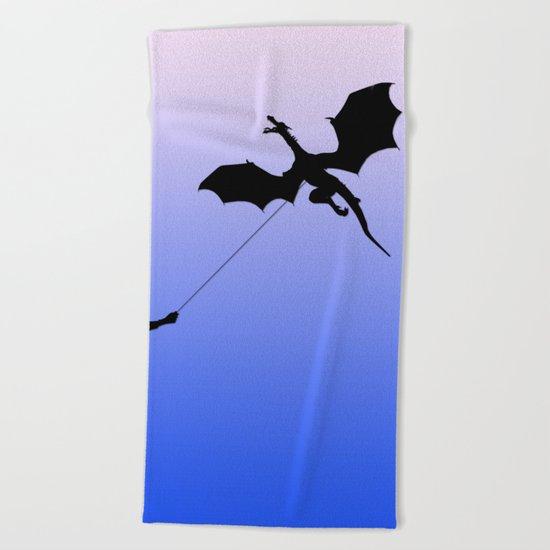 Magical Dragon Dragon Beach Towel