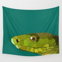 Green Mamba Wall Tapestry