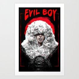 Yolandi - Evil Boy Art Print