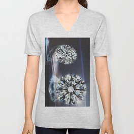 Diamond 1 Unisex V-Neck