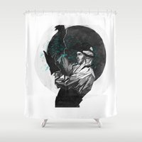 jesse pinkman Shower Curtains featuring Jesse by Rzuud