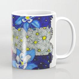 Colorado Columbine Flag Coffee Mug