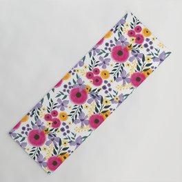Spring Floral Bouquet Yoga Mat