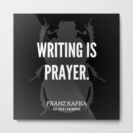 81   |  Franz Kafka Quotes | 190517 Metal Print