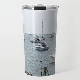 Boats Travel Mug