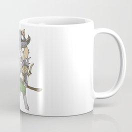 Nordic Viking Kid Cat Kitten Warrior Valhalla Gift Coffee Mug