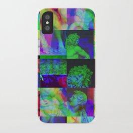 Poseidon Glitch 02 iPhone Case