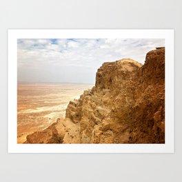 Masada Art Print