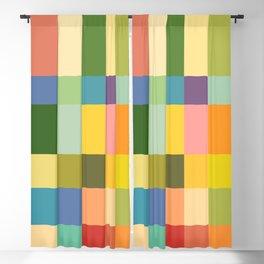 Soft Color Gradient Blackout Curtain