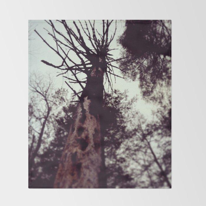Dead Tree Throw Blanket