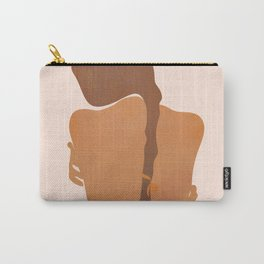 Minimal Female Figure Carry-All Pouch