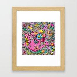 Grow With Love Framed Art Print