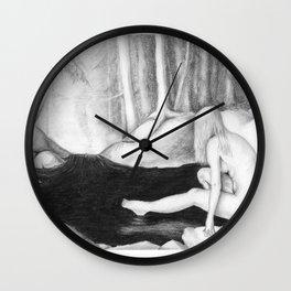 Woodland Nymph Wall Clock