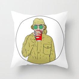"""Mac Miller R.I.P """"Juice"""" Throw Pillow"""